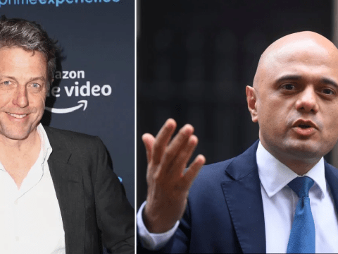 Hugh Grant sets record straight after Sajid Javid brands him 'rude' and 'elitist' for refusing to shake his hand