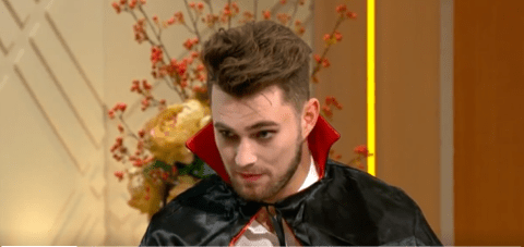Curtis Pritchard 'could have been stabbed' in nightclub attack with brother AJ as he rushes off Lorraine to give blood