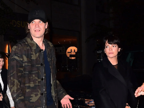 Lily Allen supports new man David Harbour as the Stranger Things star hosts Saturday Night Live