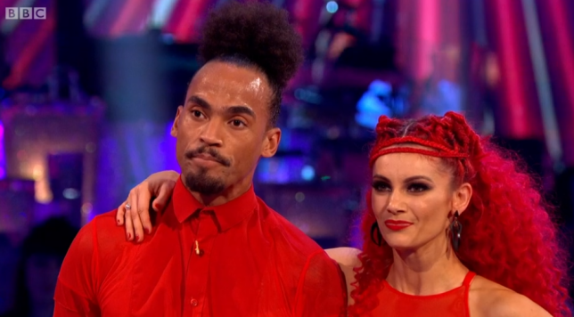 Dev Griffin and Dianne Buswell on Strictly Come Dancing 2019