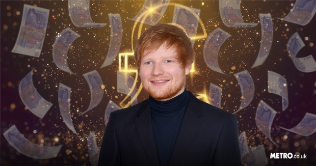 Ed Sheeran rich