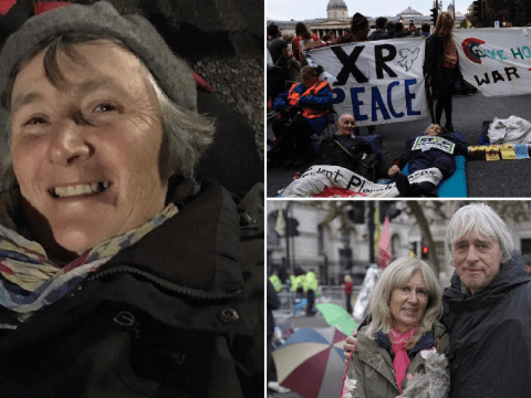 Grandparents facing arrest 'prepared to do anything' at Extinction Rebellion protests