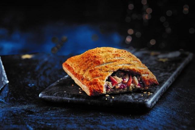 festive bake from greggs