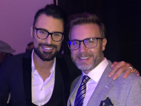 Rylan Clark-Neal patches things up with Gary Barlow seven years on from X Factor 'feud'