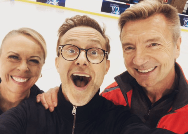 H from Steps has made Dancing on Ice history by being paired up in a same-sex dance couple