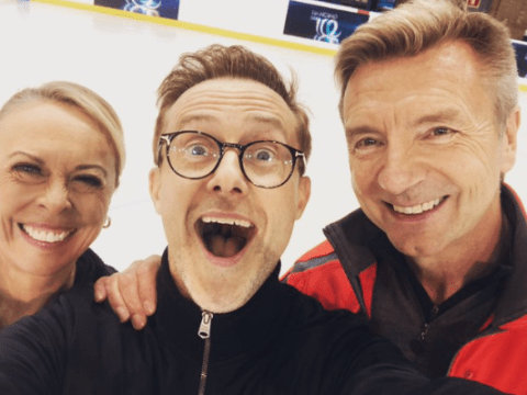 H from Steps shares behind-the-scenes Dancing on Ice photos as he's lined up for first same-sex couple