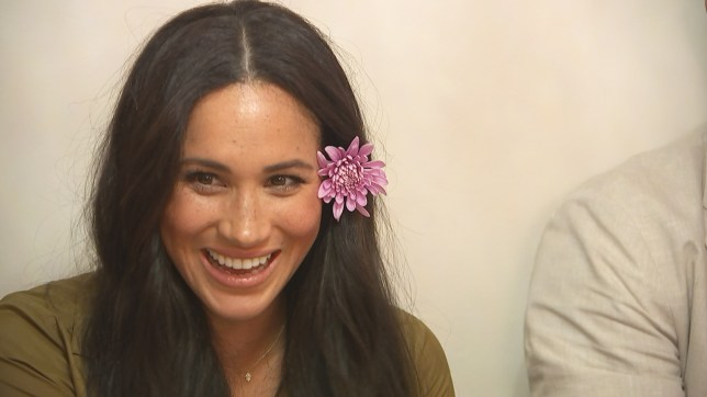 Meghan Markle in Harry and Meghan: An African Adventure