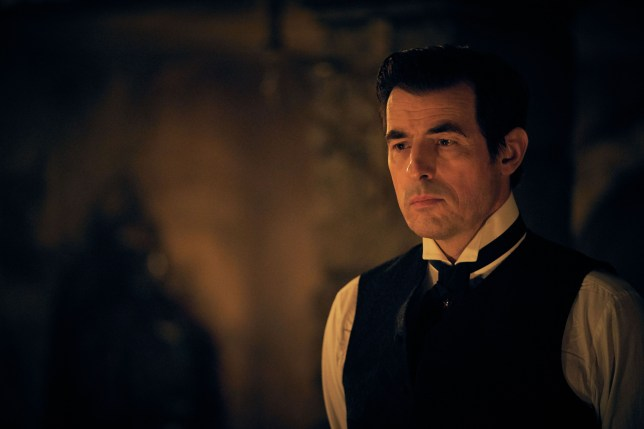 Claes Bang in a scene from Dracula