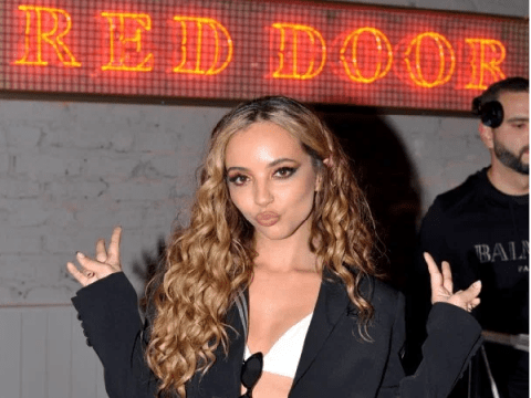 Jade Thirlwall celebrates launch of her own Red Door cocktail bar with Little Mix bandmates
