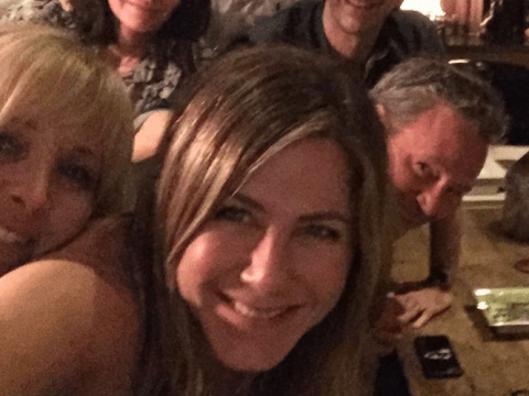 Jennifer Aniston clears up that Friends reunion photo but takes U-turn on that secret project