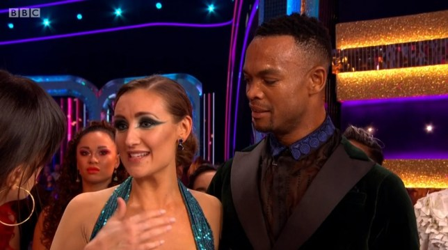 Strictly Come Dancing Katya Jones laughs off claims she gave Catherine Tyldesley a 'dirty look'