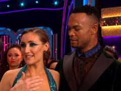 Strictly's Katya Jones laughs off claims she gave Catherine Tyldesley a 'dirty look'