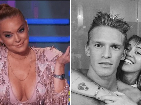 Lindsay Lohan says Cody Simpson dig was just a joke and she's 'always loved' Miley Cyrus