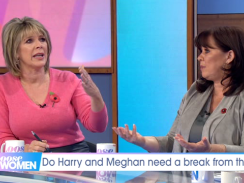 Ruth Langsford and Coleen Nolan clash over Prince Harry and Meghan Markle's move to America in heated debate