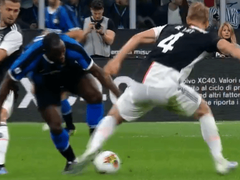 Romelu Lukaku sends Matthijs de Ligt back to Ajax's academy with filthy nutmeg for Inter Milan