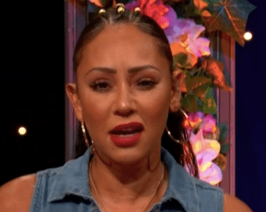 Mel B did not know the words to her song on Celebrity Juice