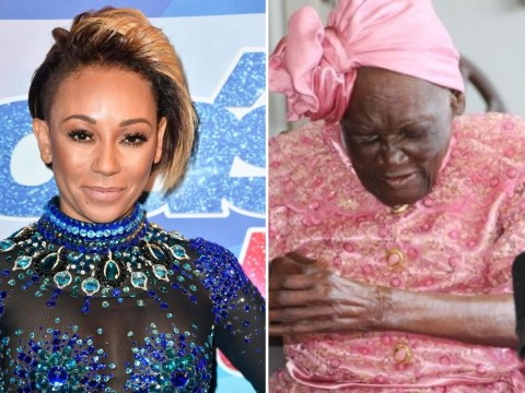 Mel B left 'deeply saddened' by death of her 107-year-old great-grandmother