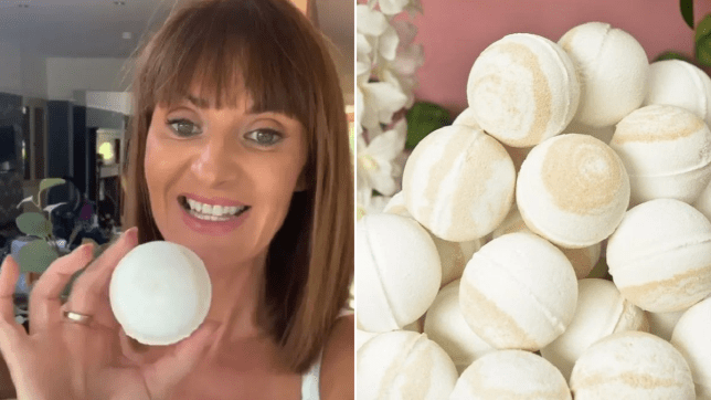 Can't remove your fake tan? There's a bath bomb for that