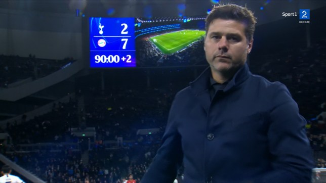 Tottenham were thrashed 7-2 by Bayern Munich on home soil in the Champions League