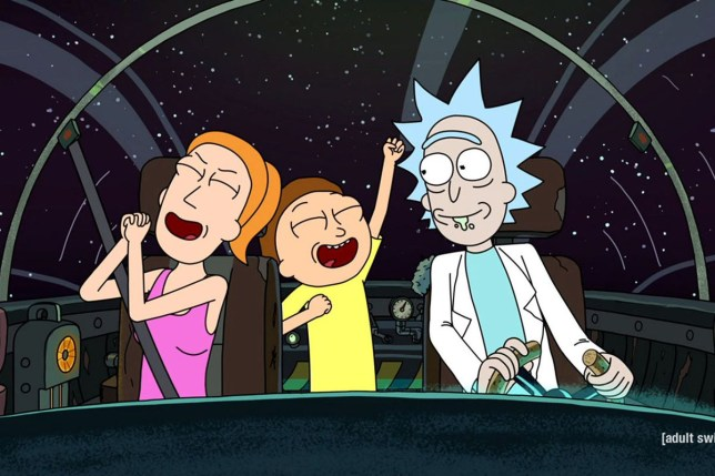 a still from Rick And Morty