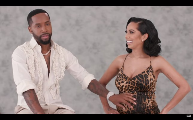 Safaree Samuels and Erica Mena