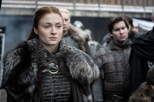 Sophie Turner in Game Of Thrones