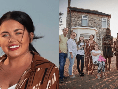 Scarlett Moffatt claims family left water borehole for Namibia tribe after The British Tribe Next Door criticism
