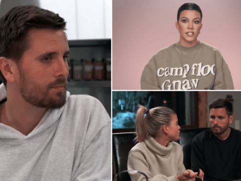 Sofia Richie tells Scott Disick she feels left out when they holiday with Kourtney Kardashian and he can't handle the pressure