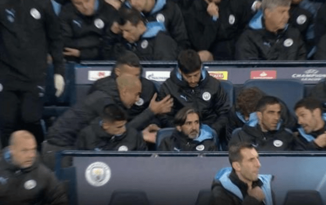 Pep Guardiola was livid with John Stones during Manchester City's Champions League win over Atalanta