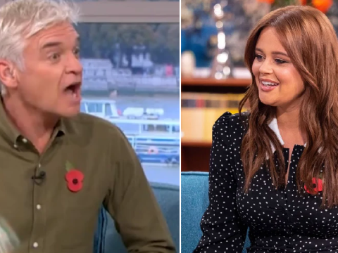 Even Phillip Schofield can't get over how many drinks Emily Atack had at Pride of Britain Awards