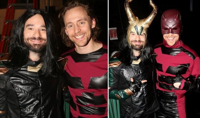 Charlie Cox as Loki and Tom Hiddleston as Daredevil