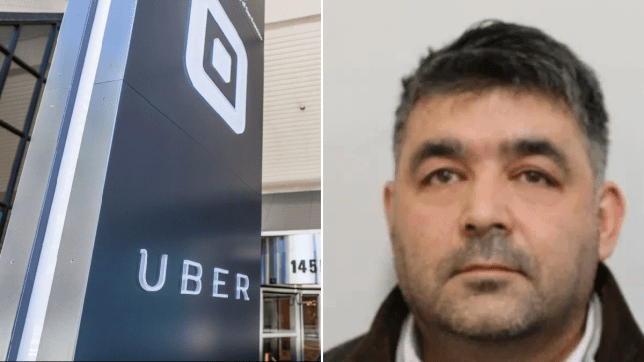 Uber driver jailed for groping woman as she vomited out of car door