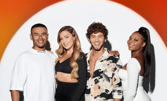Love Island stars on Celebrity X Factor