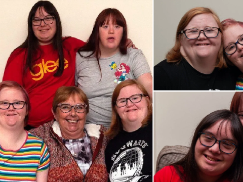 Mum says four daughters with Down's syndrome were 'easy peasy'