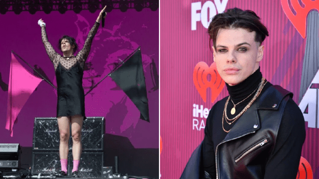 Yungblud reveals he got death threats for wearing a dress on stage in Russia: 'It doesn't scare me'