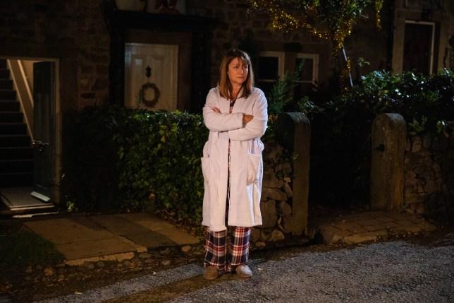Susan Cookson as Wendy in Emmerdale