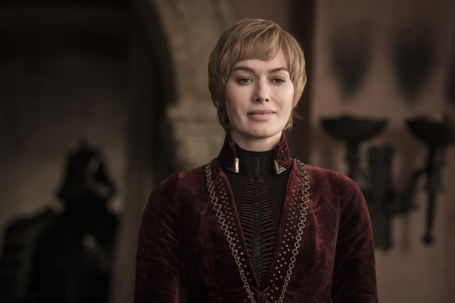 Cersei Lannister in Game of Thrones season 8