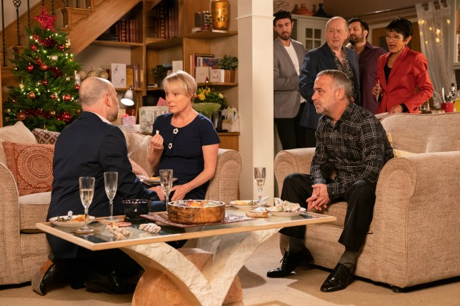Sally and Tim Metcalfe in Coronation Street