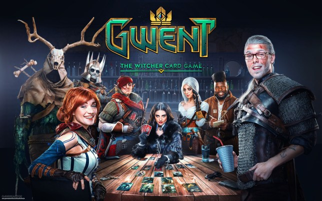 Gwent: The Witcher Card Game key art
