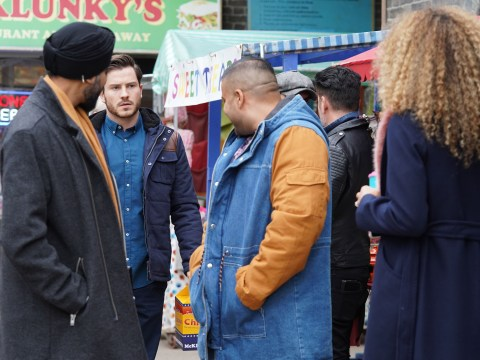 EastEnders spoilers: Danger for Jags Panesar as he comes face-to-face with Gray Atkins tonight?