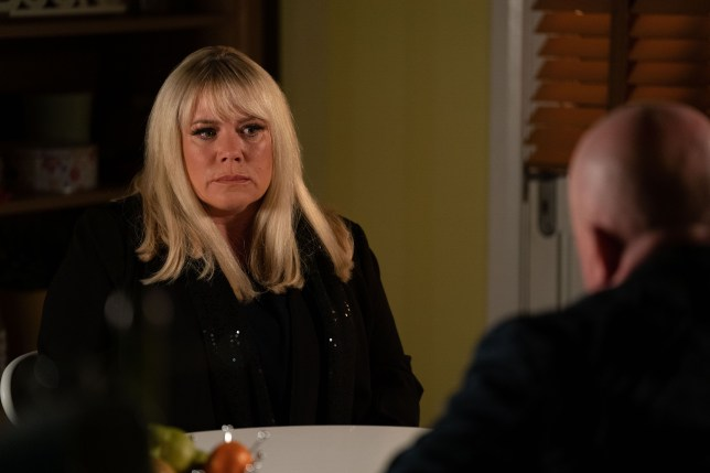 Sharon and Phil Mitchell in EastEnders