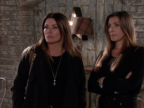 Coronation Street star Alison King reveals it's nice for Peter and Carla to be with a baby