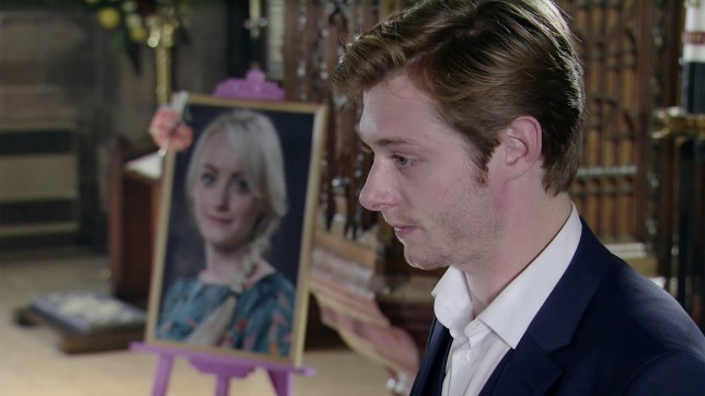 Daniel Osbourne and Sinead Tinker in Coronation Street