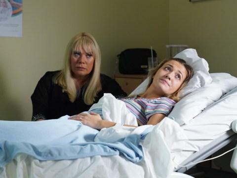 EastEnders spoilers: Louise Mitchell panics as her baby stops breathing