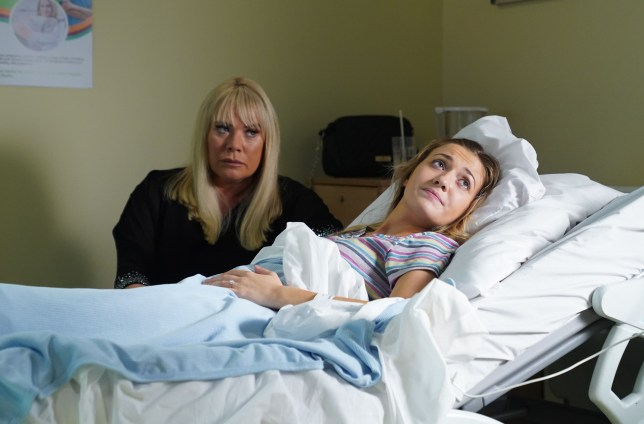 Sharon Mitchell and Louise Mitchell in EastEnders