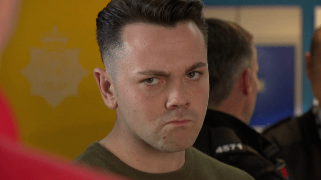 Jonny Baxter films his final Hollyoaks scenes as Ray Quinn exits