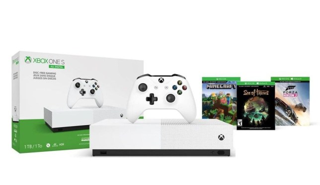 Xbox One S All Digital bundle (pic: Microsoft)
