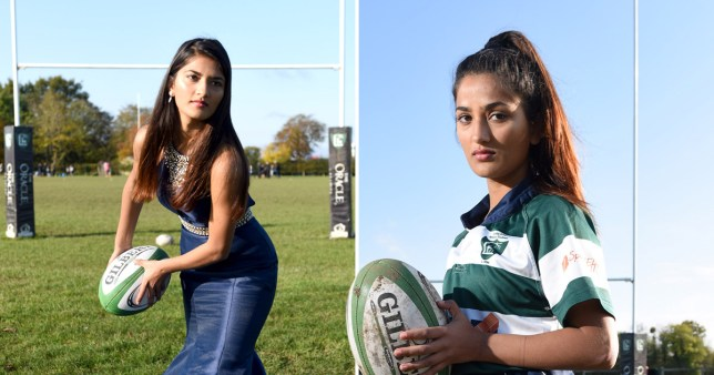 England Rugby player trying for Miss England title