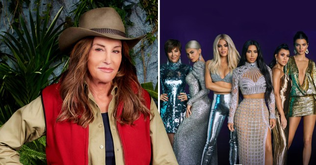 Caitlin Jenner and the Kardashian family