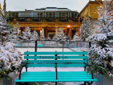 Tiffany & Co has a pretty bougie new ice rink at Covent Garden for free